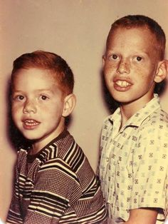 Richard Elfman childhood photo one at Pinterest.com