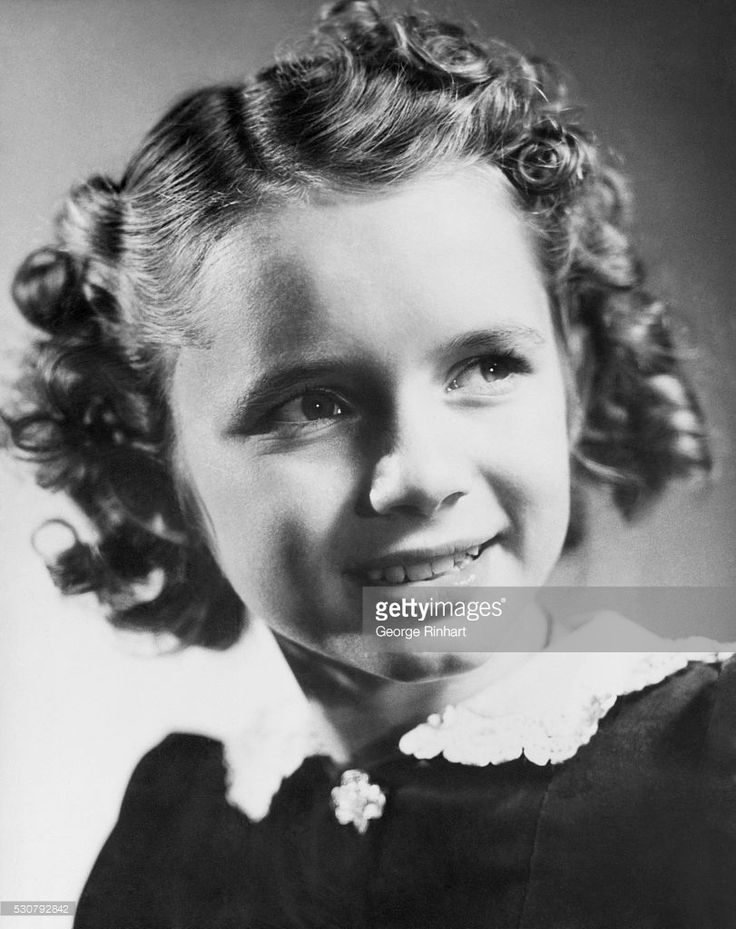 Debbie Reynolds childhood photo one at Pinterest.com