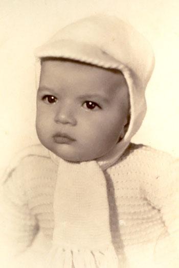 Antonio Banderas kindertijd foto twee via Pinterest.com