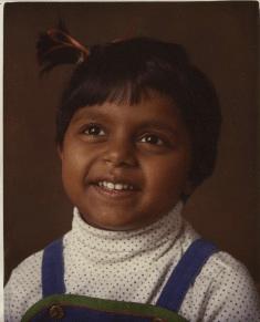 Mindy Kaling childhood photo one at Pinterest.com