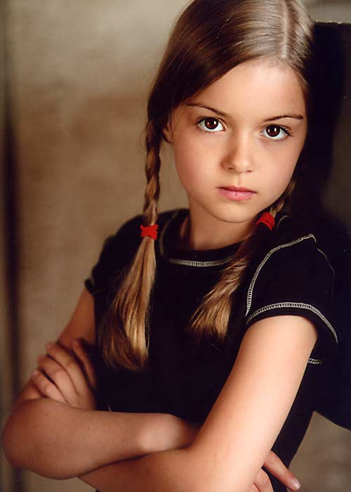 Ariel Winter childhood photo one at listal.com