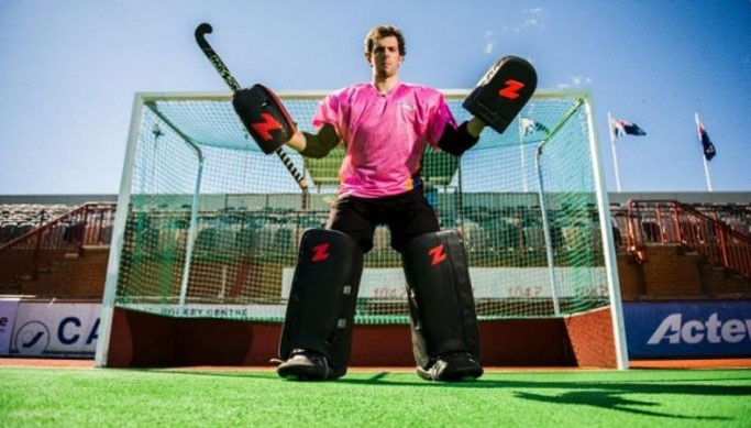 Andrew Charter - the friendly, talented,  hockey player  with Australian roots in 2019