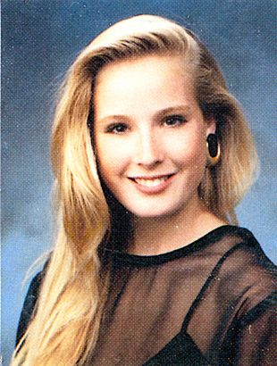 Dita von Teese yearbook photo one at pinterest.com at pinterest.com