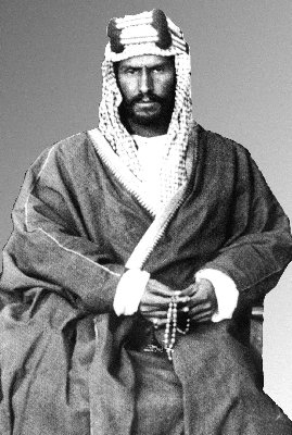 Abdul Aziz bin Saud , foto mais antiga um em deconstructedglobe.com