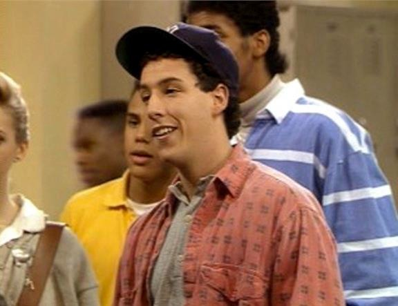 Adam Sandler first movie: The Cosby Show