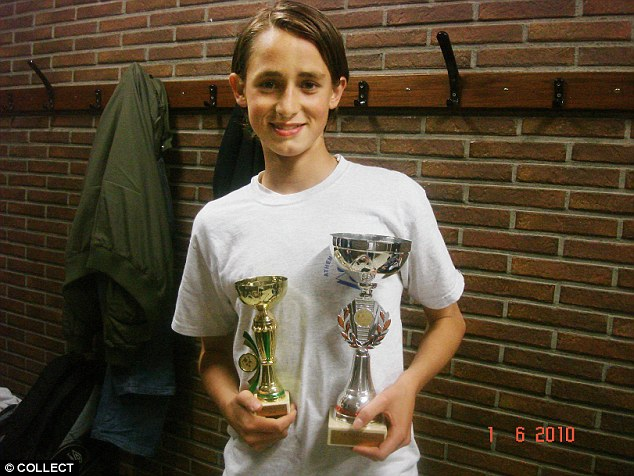 Adnan Januzaj younger photo one at dailymail.co.uk