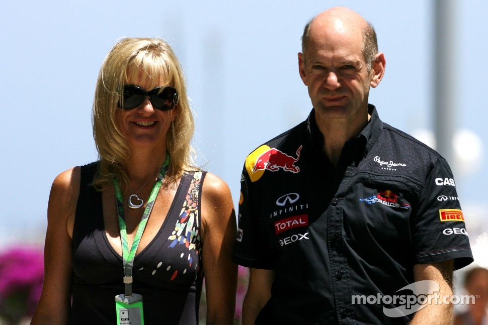 Adrian Newey younger photo two at thescuderia.net