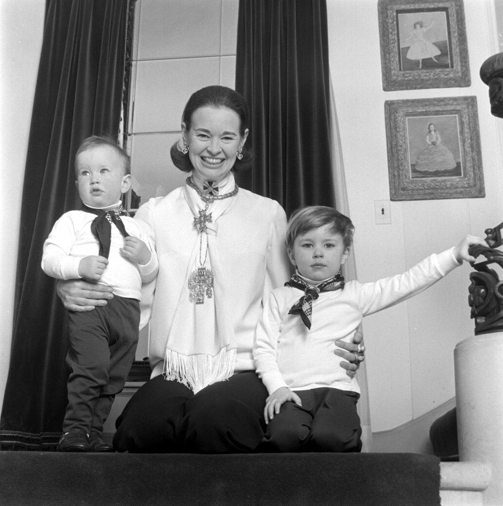 Anderson Cooper kindertijd foto een via huffingtonpost.com