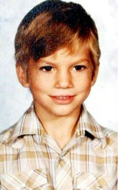 Ashton Kutcher kindertijd foto een via pinterest.com