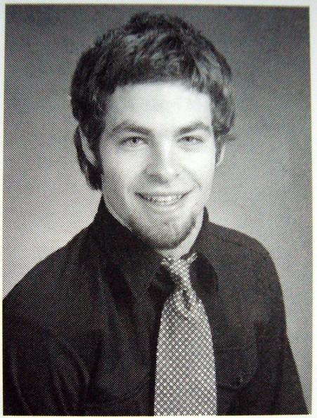 Chris Pine, foto de anuário um at classmates.com em classmates.com