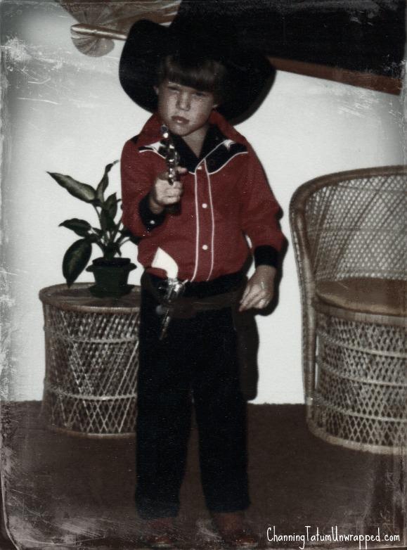 Channing Tatum childhood photo one at pinterest.com