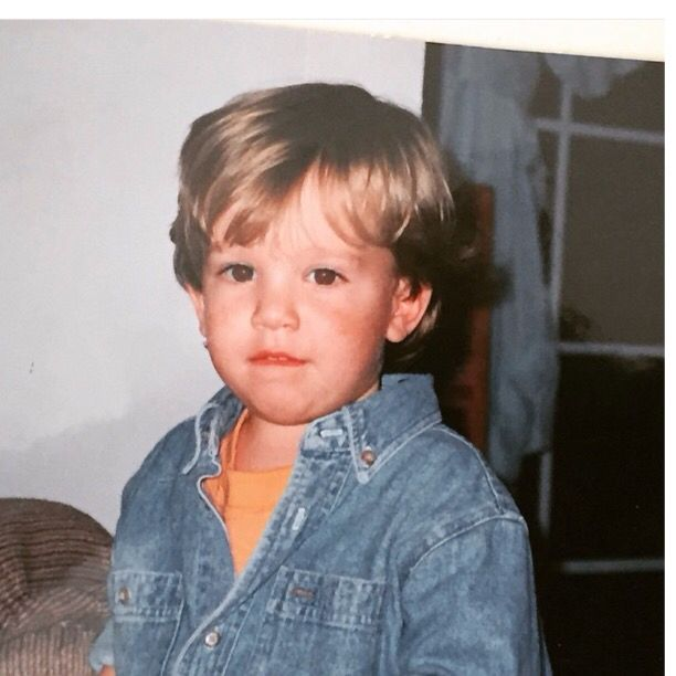 Charlie Puth childhood photo two at pinterest.com