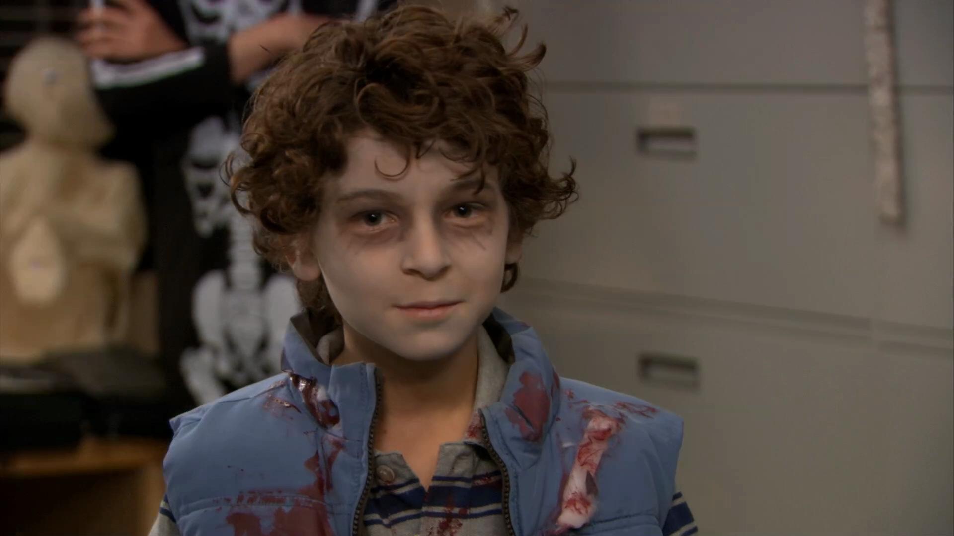 David Mazouz childhood photo one at Acrossair.com