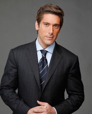 David Muir - the cool, hot, beautiful,  news Anchor  with German, Irish, Scottish, English, Italian,  roots in 2017