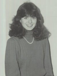 Debra Messing yearbook photo one at Classmates.com at Classmates.com