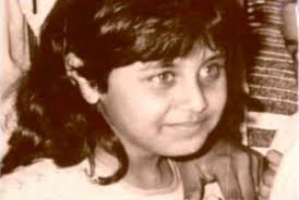 Rani Mukerji childhood photo one at Celebritytonic.com
