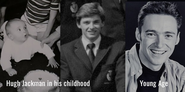 Hugh Jackman childhood photo one at Successstory.com