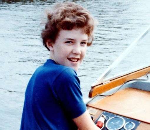 Jeremy Clarkson childhood photo one at reddit.com