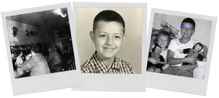 Lindsey Graham kindertijd foto een via lindseygraham.com