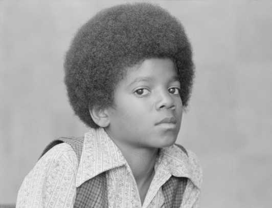 Michael Jackson childhood photo one at biography.com