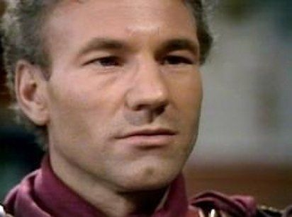 Patrick Stewart younger photo one at pinterest.com