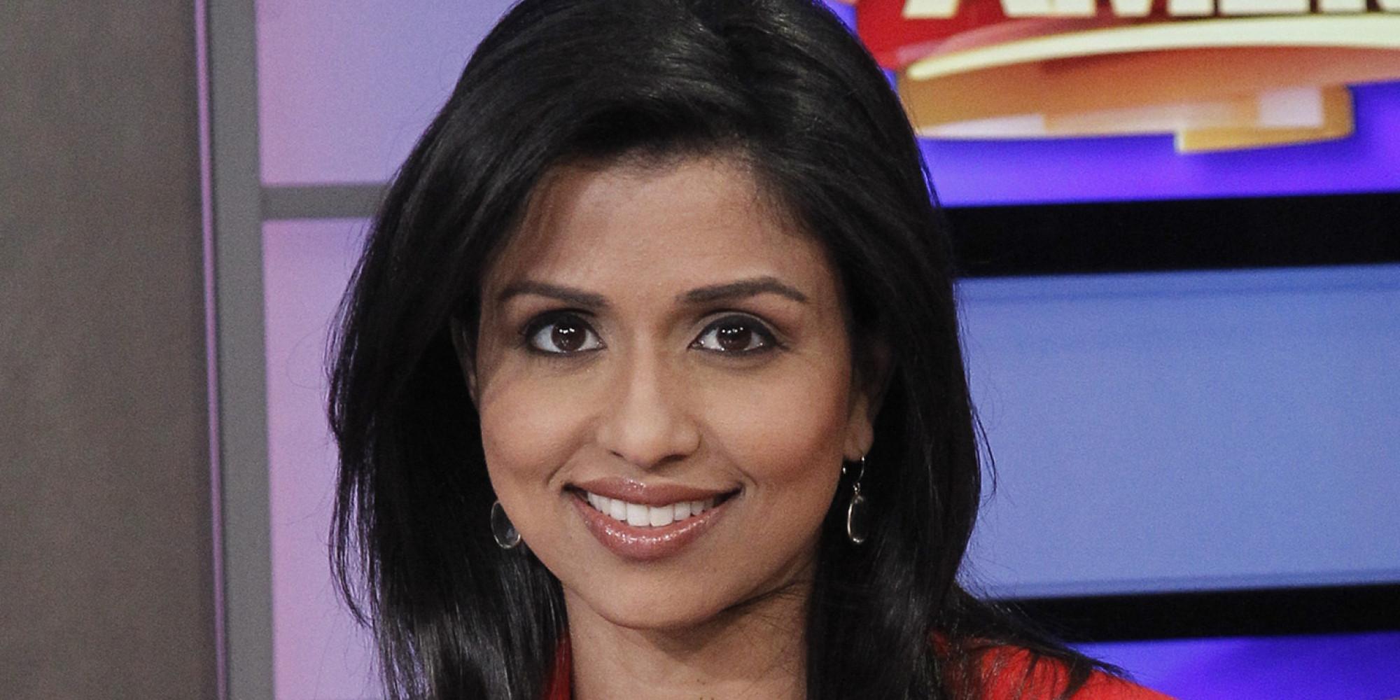 Reena Ninan - a jornalista (f.) a celebridade linda, fofa, graciosa,  de origem indiana em 2020
