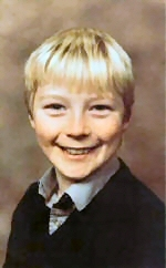 Ronan Keating childhood photo one at weebly.com