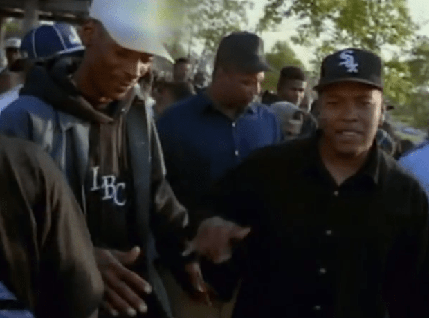 Snoop Dogg first movie: Dr. Dre Feat.Snoop Dogg: Nuthin