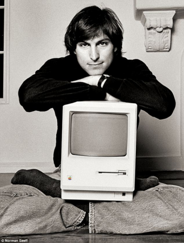Steve Jobs younger photo one at dailymail.co.uk
