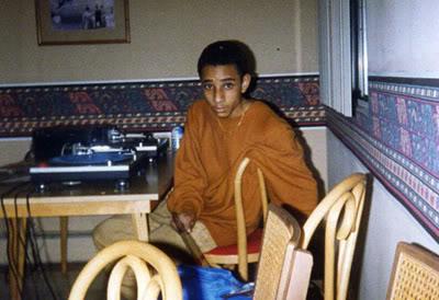 Swizz Beatz, foto de infância um em theybf.com