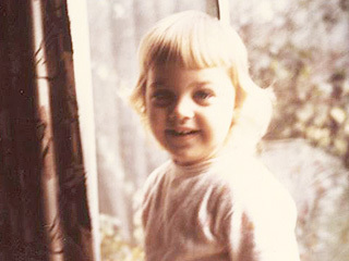 Ellen DeGeneres childhood photo two at Pinterest.com