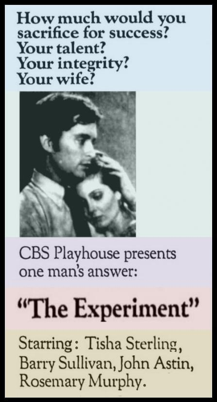 Michael Douglas first movie:  CBS Playhouse