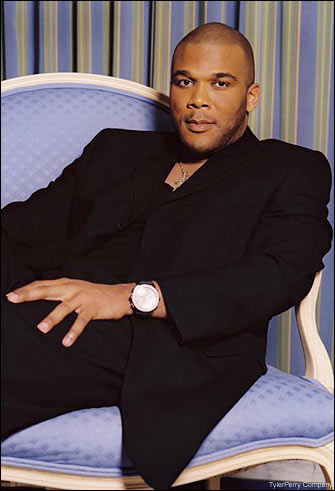 Tyler Perry younger photo two at pinterest.com