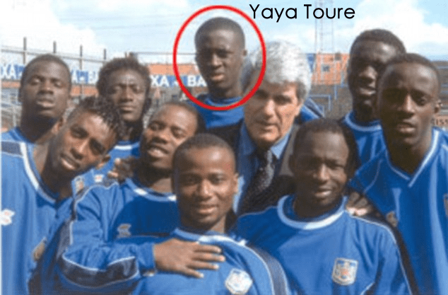 Yaya Touré childhood photo one at lifebogger.com