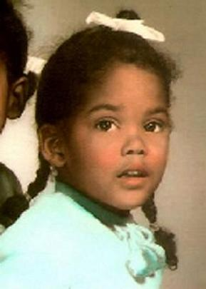Halle Berry childhood photo one at Pinterest.com