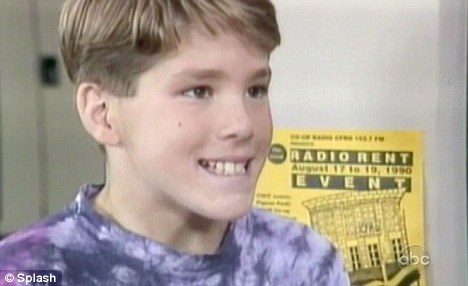 Ryan Reynolds childhood photo two at dailymail.co.uk