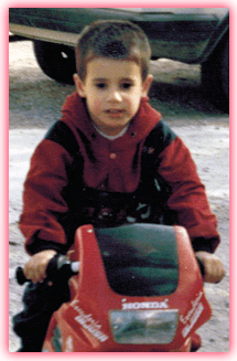 Javi Martínez childhood photo two at Javimartinez8.com