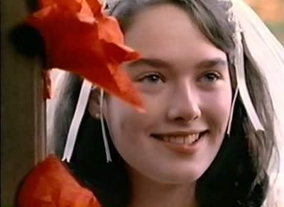 Lena Headey childhood photo two at pinterest.com