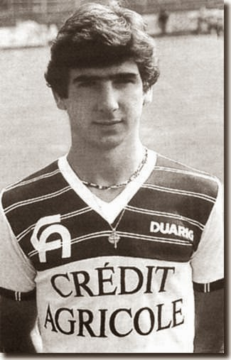 Eric Cantona younger photo one at http://footballplayerschildhoodpics.blogspot.ro
