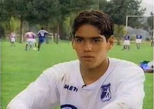 Radamel Falcao younger photo one at ronaldo7.net