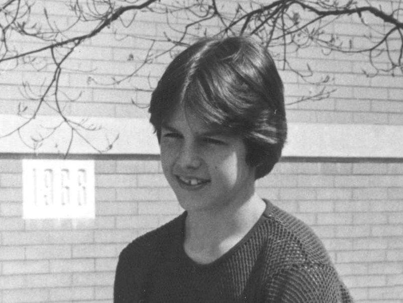 Tom Cruise, foto de infância dois em lipstickalley.com