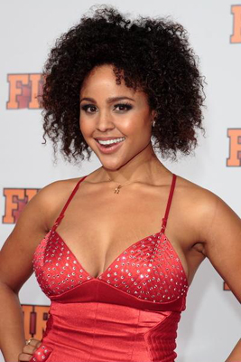 Hayley Marie Norman - the hot, beautiful,  actress, model,   with Afro-American, German, Dutch, Russian,  roots in 2020