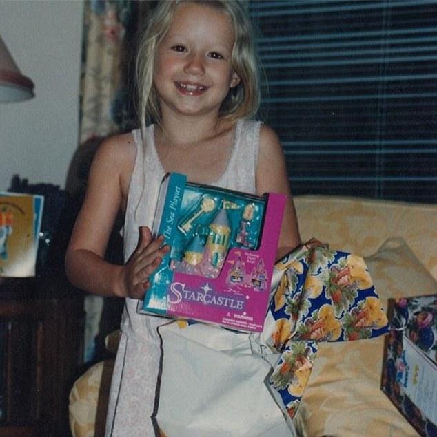 Iggy Azalea childhood photo one at Dailymail.co.uk