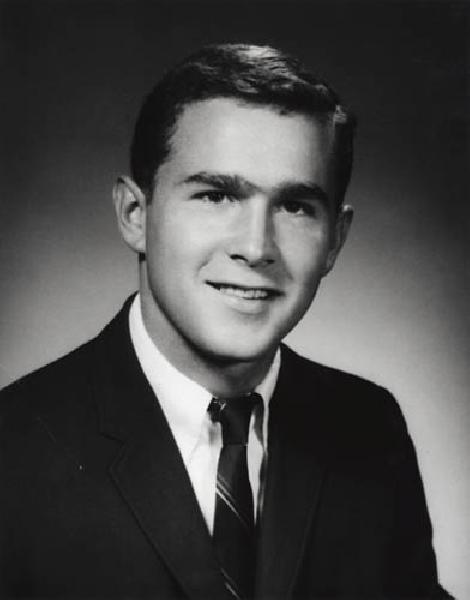 George Bush yearbook photo two at Pinterest.com at Pinterest.com