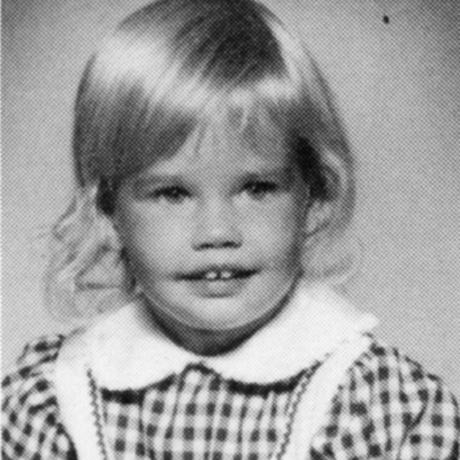 Denise Richards childhood photo one at Uk.pinterest.com