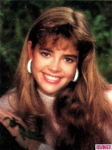 Denise Richards yearbook photo one at Pinterest.com at Pinterest.com