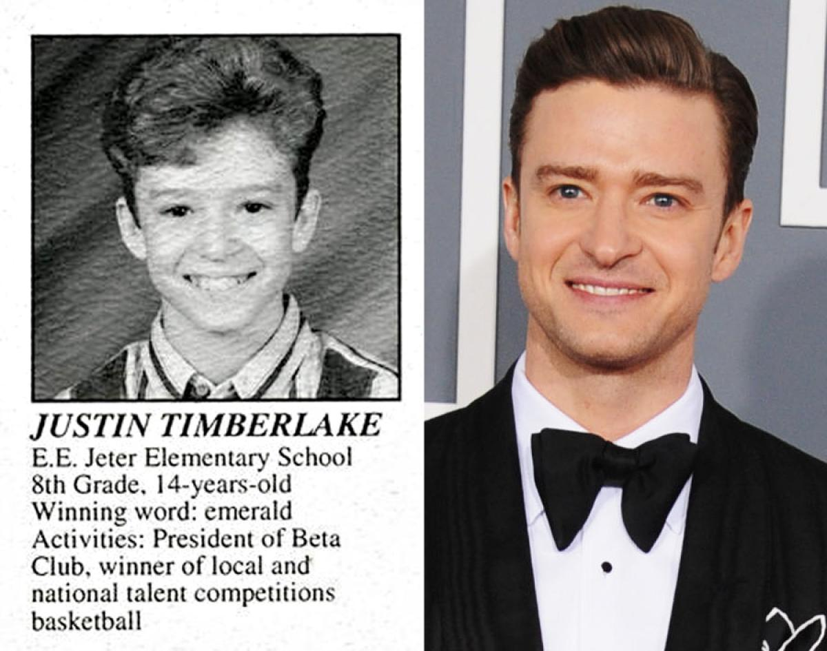 Justin Timberlake yearbook photo one at pinterest.com at pinterest.com