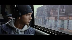 Eminem first movie:  8 Mile