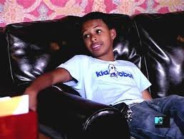 Diggy Simmons childhood photo one at buddytv.com