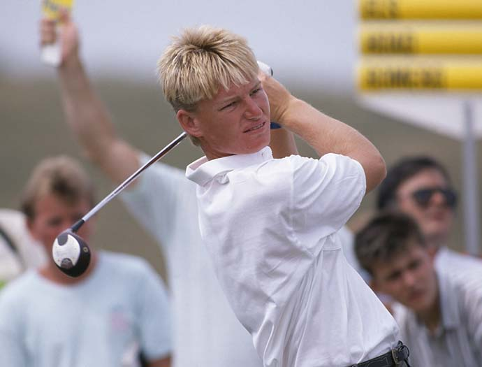 Ernie Els younger photo one at golf.com